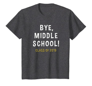 2019 Middle School Graduation Gift Junior High Student Shirt