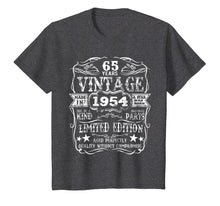 Afbeelding in Gallery-weergave laden, Made In 1954 65 Years Old Vintage 65th Birthday Gift T-Shirt