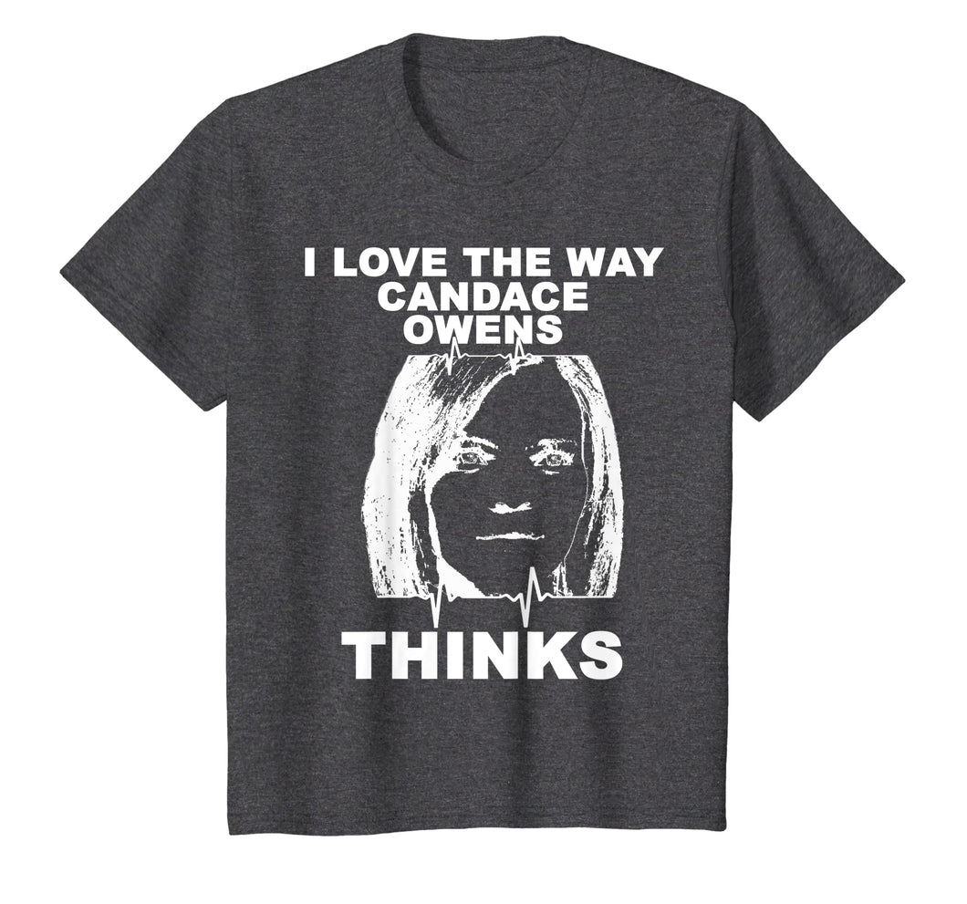 I Love The Way Candace Owens Thinks shirt Drawing TShirt