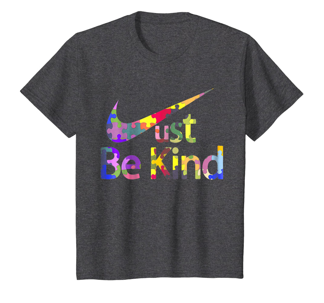 Autism Awareness Shirt Just Be Kind T-Shirt Autist Tee
