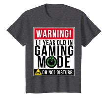 Afbeelding in Gallery-weergave laden, 11th Birthday T-Shirt 11 Year Old Gamer