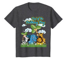 Afbeelding in Gallery-weergave laden, Zoo Safari Jungle Dad of Birthday Boy Party Men T-Shirt