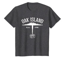 Afbeelding in Gallery-weergave laden, Oak Island Island and Treasure Gift T-Shirt - White-204747