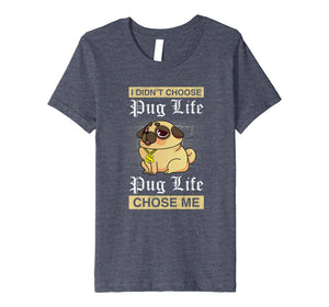 Crazy Pug T-shirt for women loves pugy is funny gift tshirt
