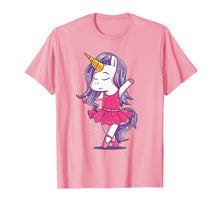 Afbeelding in Gallery-weergave laden, Ballet Dancer Unicorn Shirt Girls Kids Ballerina Gift