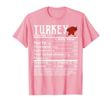 Afbeelding in Gallery-weergave laden, Turkey Dabbing Nutritional Facts Funny Thanksgiving Gift T-Shirt