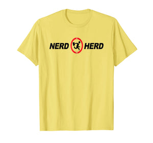 Nerd T Shirt Buy More Herd For Year 2018
