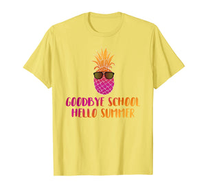 Last Day of School Shirt Teacher Goodbye School Hello Summer