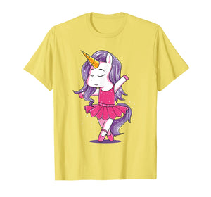Ballet Dancer Unicorn Shirt Girls Kids Ballerina Gift