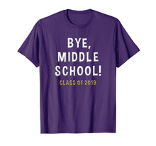 Afbeelding in Gallery-weergave laden, 2019 Middle School Graduation Gift Junior High Student Shirt