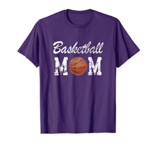 Afbeelding in Gallery-weergave laden, Basketball Mom Cute Novelty Distressed T-Shirt