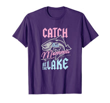 Afbeelding in Gallery-weergave laden, Catch This Momma At Lake Fishing Canoe Fisherwoman T-Shirt