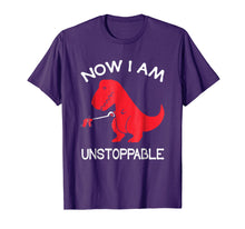 Afbeelding in Gallery-weergave laden, Now I'm Unstoppable - Funny T-Rex Dinosaur T-Shirt