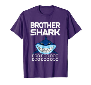 Brother Shark T-shirt Doo Doo Doo - Gift Shark Tee