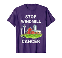 Afbeelding in Gallery-weergave laden, Stop Windmill Cancer awareness t-shirt