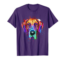 Afbeelding in Gallery-weergave laden, Splash Art Great Dane T-Shirt | Dane Puppy Lover Gifts