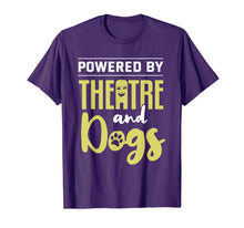 Afbeelding in Gallery-weergave laden, Theatre Dog Lover Theatre and Dogs Funny Actor Actress Gift T-Shirt
