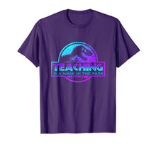 Afbeelding in Gallery-weergave laden, Teaching Is A Walk In Park Teacher Gift T-Shirt