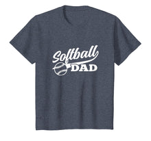 Afbeelding in Gallery-weergave laden, Softball Dad Shirt 1970s Retro Cursive Graphic (Dark)