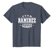 Afbeelding in Gallery-weergave laden, Team Ramirez Lifetime Member Proud Family Surname Gift Shirt