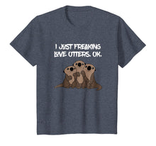 Afbeelding in Gallery-weergave laden, Love Otters Tee | Funny T-Shirt Gifts for Otters Lovers