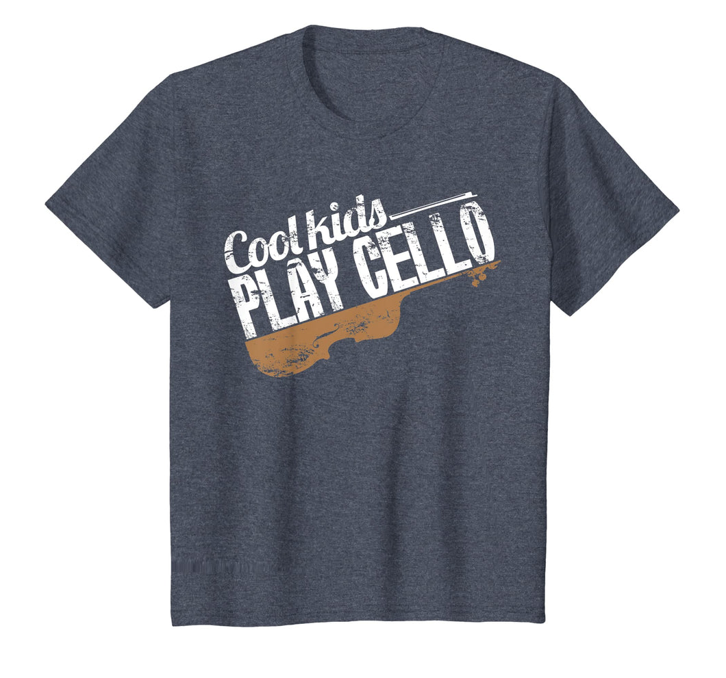 Cook kids play cello fun Gift for Cello Player Cellist Shirt