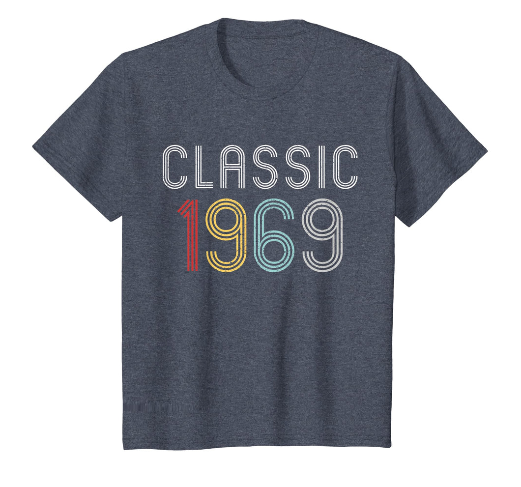 50th Birthday Vintage Classic Gift shirt 1969 T-Shirt