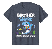 Afbeelding in Gallery-weergave laden, Lovely Fishes Swimming In The Sea Shirt Brother Autism Shark