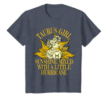 Afbeelding in Gallery-weergave laden, Taurus Girl Sunshine Hurricane T Shirt April & May