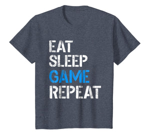 Eat Sleep Game Repeat Shirt Video Gamer Gifts Gaming Players