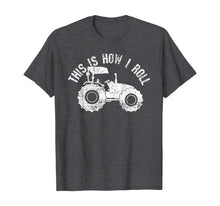 Afbeelding in Gallery-weergave laden, Tractor T-Shirt Farmer Tshirt Funny Saying Vintage Gift Tee