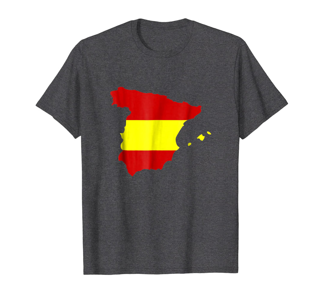 Spain map flag T-Shirt