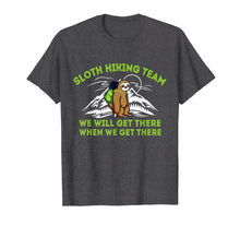 Afbeelding in Gallery-weergave laden, Sloth Hiking Team Shirt for Men & Women