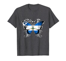 Afbeelding in Gallery-weergave laden, Nicaragua Flag Shirt Butterfly Graphic T Shirt