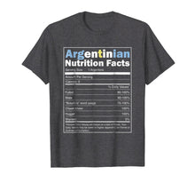 Afbeelding in Gallery-weergave laden, Argentina Shirt - Funny Argentinian Nutrition Facts Tshirt