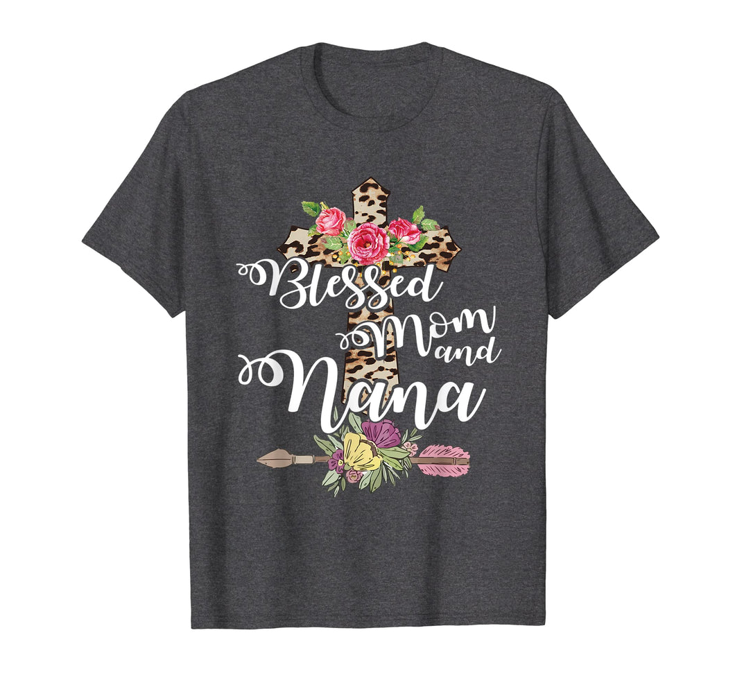 Blessed To Be Called Mom And Nana Tshirt Mothers Day Gift