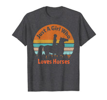 Afbeelding in Gallery-weergave laden, Just A Girl Who Loves Riding English Horses T-shirt Gifts