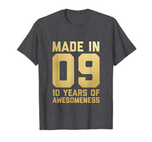 Afbeelding in Gallery-weergave laden, 10th Birthday Shirt Gift Ten Age 10 Year Old Boys Girls Son