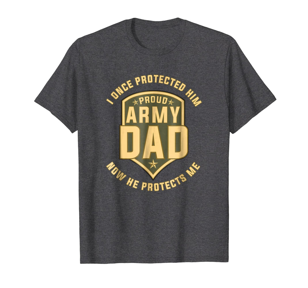 Proud Army Dad Protect Sons T-Shirts