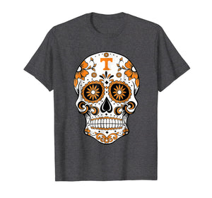 Tennessee Volunteers Sugar Skull T-Shirt - Apparel