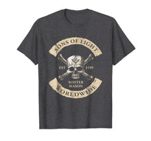 Afbeelding in Gallery-weergave laden, Sons Of Light Worldwide Freemasons T Shirt