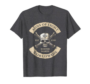 Sons Of Light Worldwide Freemasons T Shirt
