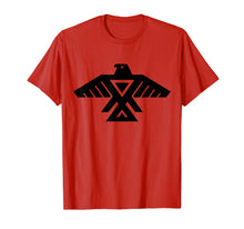 Afbeelding in Gallery-weergave laden, Anishinaabe Native American Thunderbird Symbol T Shirt