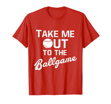 Afbeelding in Gallery-weergave laden, Take Me Out To The Ballgame Baseball Old School Sports Tee