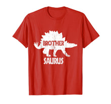 Afbeelding in Gallery-weergave laden, Brother Saurus Dinosaur Shirt Matching Family Tribe Bro