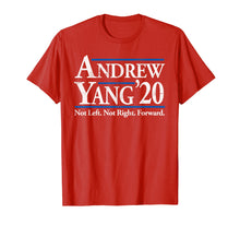 Afbeelding in Gallery-weergave laden, Andrew Yang 2020 Shirt Vintage Reagan Bush '84 in Red  T-Shirt