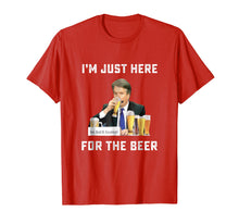 Afbeelding in Gallery-weergave laden, I'm Just Here For The Beer Still Like Beer T-Shirt Kavanaugh