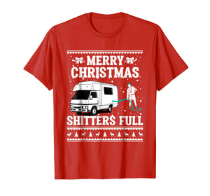 Merry Christmas Shitters Full Ugly Sweater T-Shirt