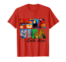 Afbeelding in Gallery-weergave laden, Costa Rica pura vida T-shirt