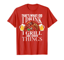 Afbeelding in Gallery-weergave laden, That's What I Do I Drink I Grill And Know Things Funny Gift